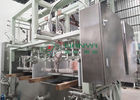 PLC Controlled Automatic Pulp Molding Machine For Recyclable Industrial Package