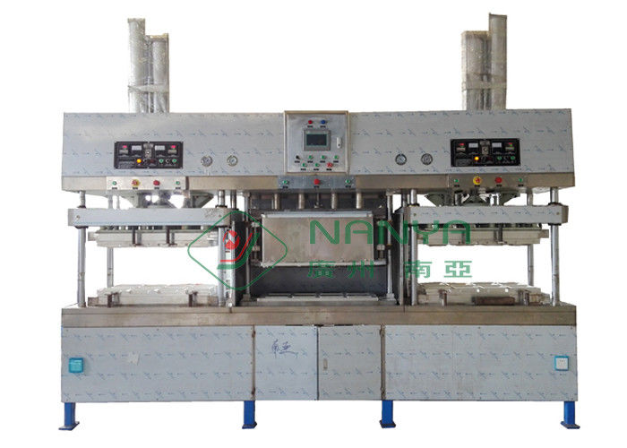 Molded Pulp Paper Plate Making Machine for Easy Operating  Ecowares Production Line