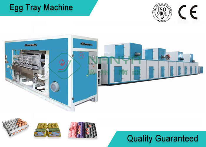 Full Automatic Moulding Pulp Egg Tray Machine with 4000 Pcs/H