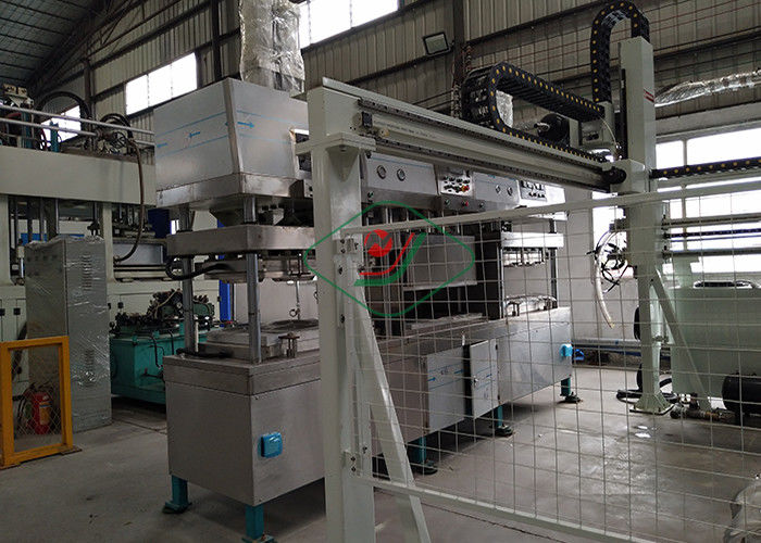 Disposable Sugarcane Paper Plate Making Machine / Tableware Production Line