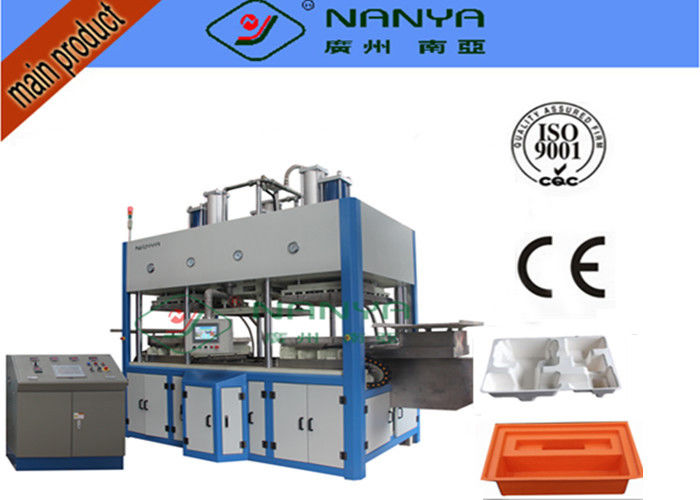Moulding Pulp Thermal Forming Machine For Paper Plate / Egg Tray