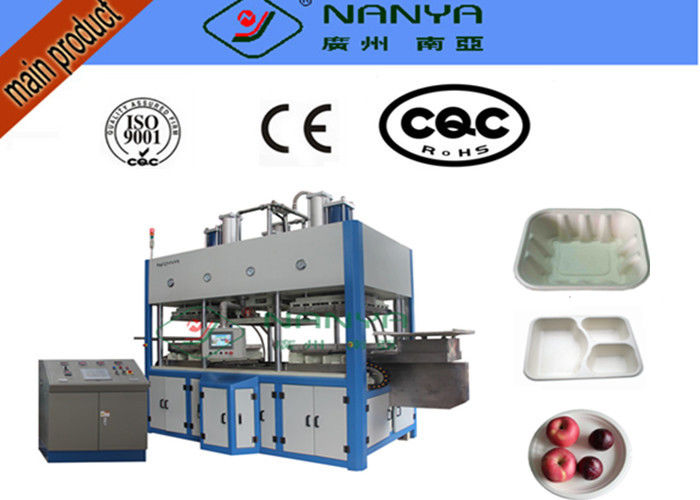 Tableware Thermoforming Pulp Moulded Products Pulp Molding Production Line